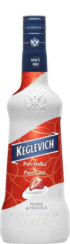 Keglevich Vodka Panna & Fragola